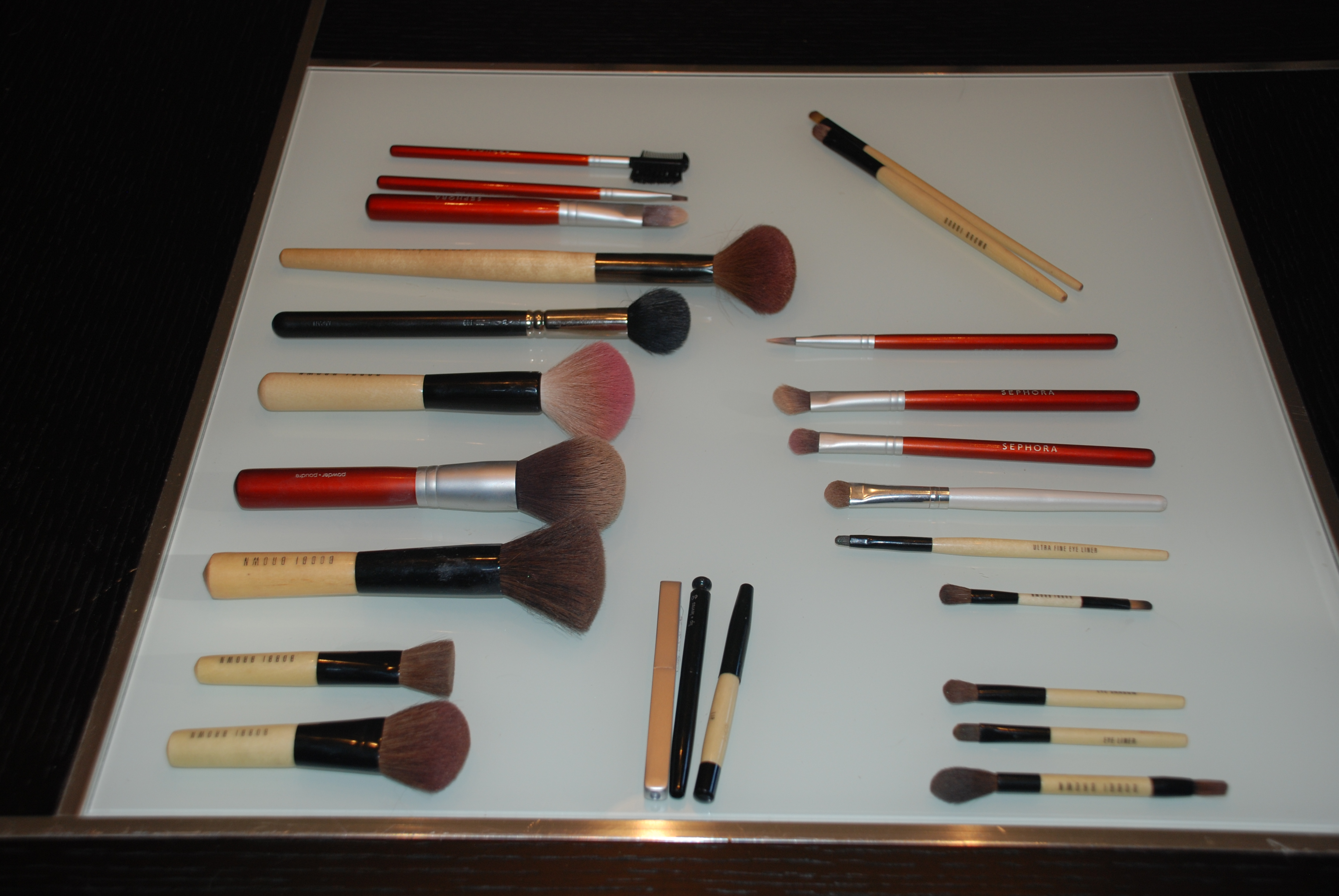 My Cosmetic Obsession Be More With Less Crazy 8 Set Make Up Brush 12 Pieces Brushes Approximate Value 450
